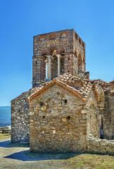 Fototapete - Church Of Agia Sofia, Mystras, Greece