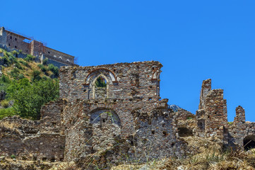 Wall Mural - View of Mistra ruins, Greece