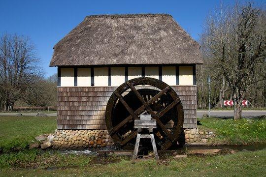 The old Tvis watermill in Denmark