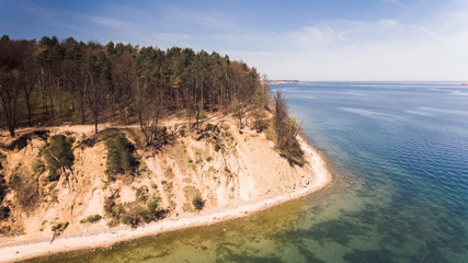 Klify w Orłowie Gdynia