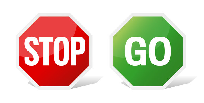 Stop and Go sign