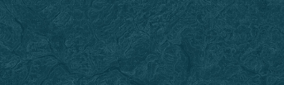 Vector abstract earth relief map. Generated conceptual elevation map. Isolines of landscape surface elevation. Geographic map conceptual design. Elegant background for presentations