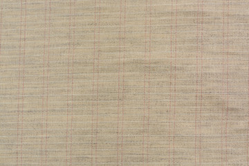 The beige tissue is close to the white and red cells. The large texture of linen fabric is useful...