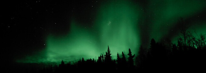 Magnificient northern light in Yellowknife Canada 2020