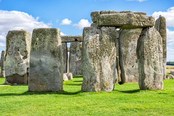 The Mysterious Stonehenge Close-Up View