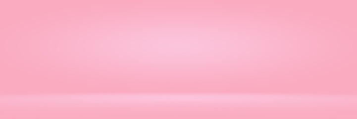 Abstact photographic Pink Gradient studio backdrop Background.