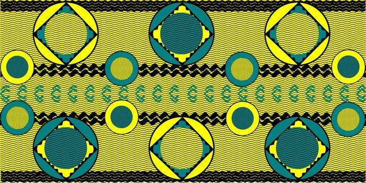 seamless pattern sign