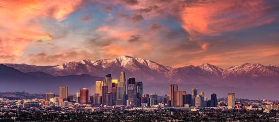 Fototapete - Los Angeles Sunset