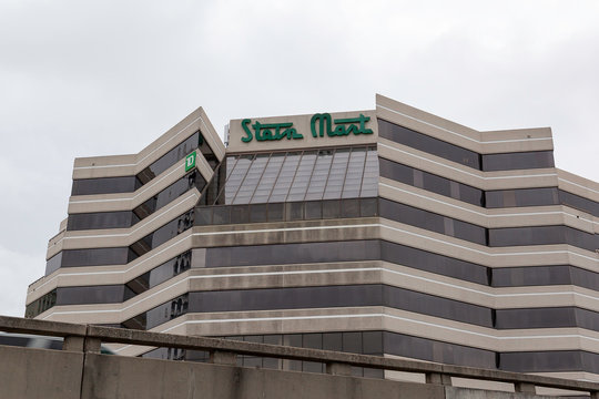 Jacksonville, Florida, USA - January 19, 2020: Stein Mart headquarters in Jacksonville, Florida, USA. Stein Mart is an American discount men and women's department store chain.