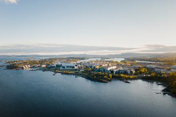 The South Norwegian town Fornebu