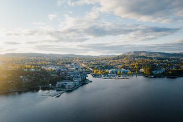 The South Norwegian town Lysaker