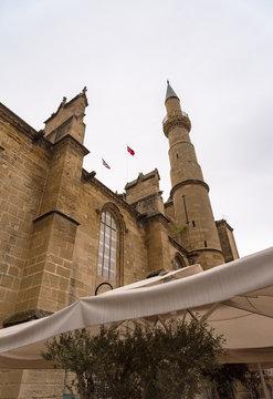 Selimiye Mosque (Cathedral of Saint Sophia). Nicosia. Northern Cyprus