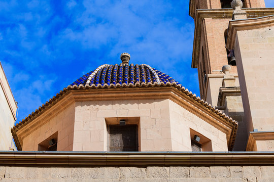 Streets of Alicante. Alicante province. Spain