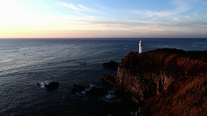 Wall Mural - 足摺岬と黒潮の海