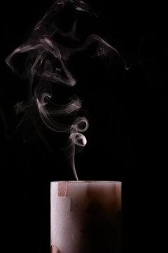 Сandle smoke