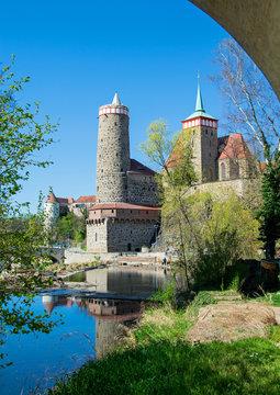 Bautzen Alte Wasserkunst und Michaeliskirche