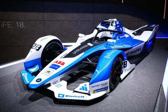 BMW Formula E sports car