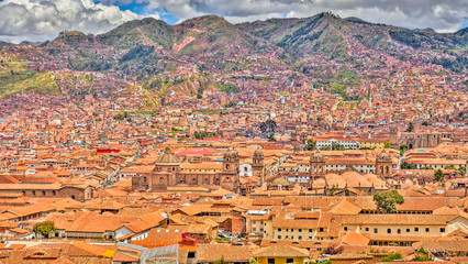 Wall Mural - Cusco rooftops, Peru