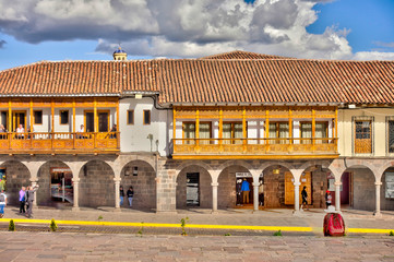 Wall Mural - Cusco, Peru, Historical landmarks, HDR Image