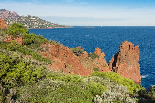 La Rade d'Agay vue du Cap Dramont