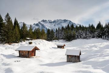 Fototapete - Karwendel
