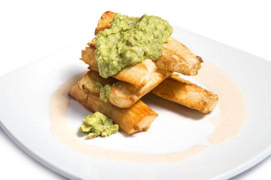 Deep fried cassava.