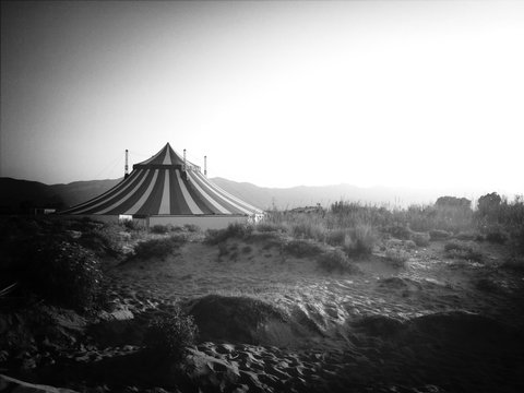 Circus Tent In Field