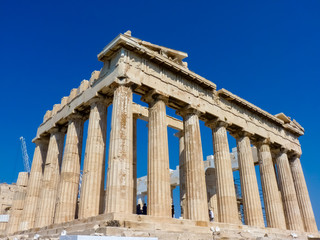 Wall Murals Place of worship Parthenon, temple on the Athenian Acropolis, Athens