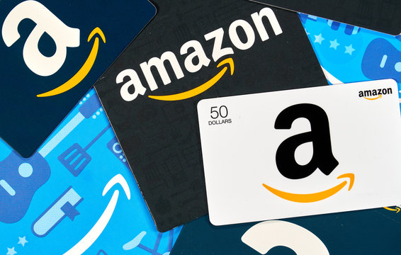 Different Amazon gift cards. Amazon is a titan of e-commerce, logistics, payments etc