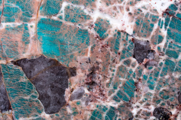 Wall Mural - Quartzite background for your excellent design in blue tones. High quality texture in extremely high resolution. 50 megapixels photo.