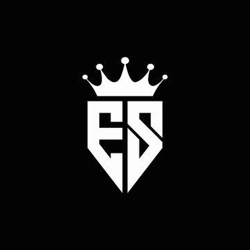 Es Logo Photos Royalty Free Images Graphics Vectors Videos Adobe Stock