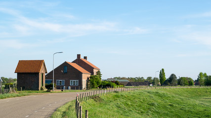 Old Traditional Dutch Farmhouse