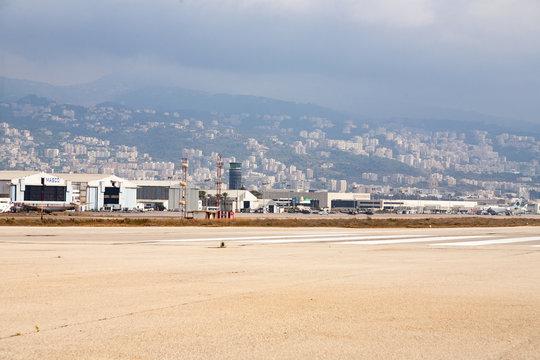 August 01, 2007: An overview of Beirut's Rafic Hariri Internation Airport (BEY)