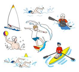 水上競技スポーツ