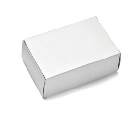 white box container template blank package design soap