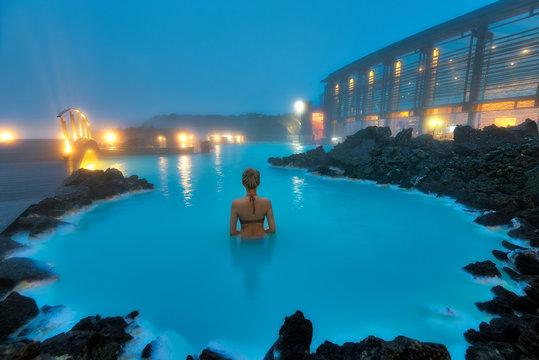 Blue Lagoon Swimming Pool in Western Iceland