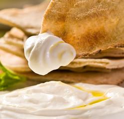 coalhada seca comida Árabe