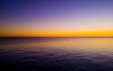 Obraz View Of Calm Sea At Dusk - fototapety do salonu