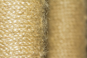 Close-up Of Braided Ropes