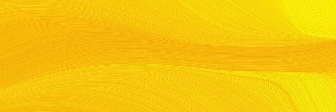 elegant surreal cover with amber, gold and tangerine yellow colors. fluid curved flowing waves and curves