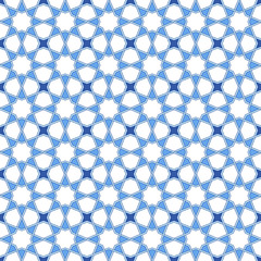 Traditional arabic pattern. Moroccan seamless vector pattern background.