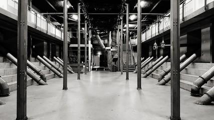 Photo sur Aluminium Rotterdam Interior Of Factory