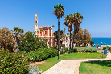 Saint Peter's church in old Jaffa in Israel.