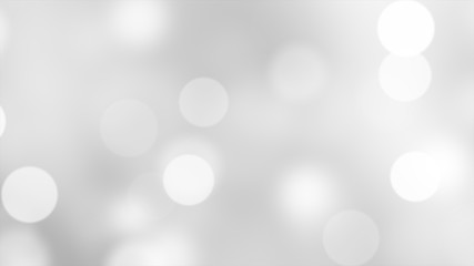 Abstract Christmas particle bokeh background