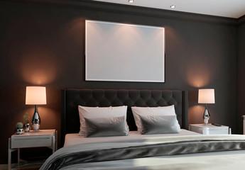 Bedroom Horizontal Mockup