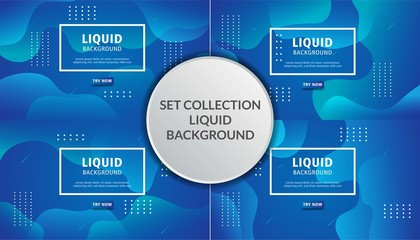abstract liquid vector background banner design,can be used in cover design, poster, flyer, book design, social media template background. website backgrounds or advertising. Wall mural