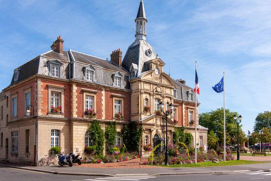 Rathaus in Cabourg in der Normandie in Frankreoch