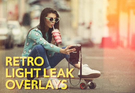 Light Leaks Overlay Bundle