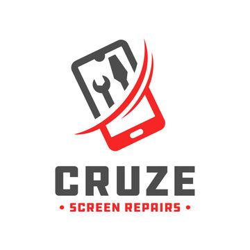 handphone repair technology logo