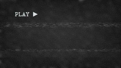 Glitch VHS Effect. Old Camera Screen. No Signal Fototapete